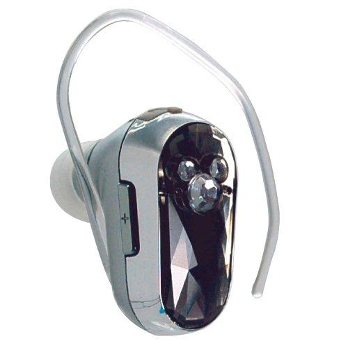 ディズニーキャラクター 携帯電話対応 Bluetooth ワイヤレスイヤホンマイク クリスタルタイプ ブラック RX-DNYBT1BK