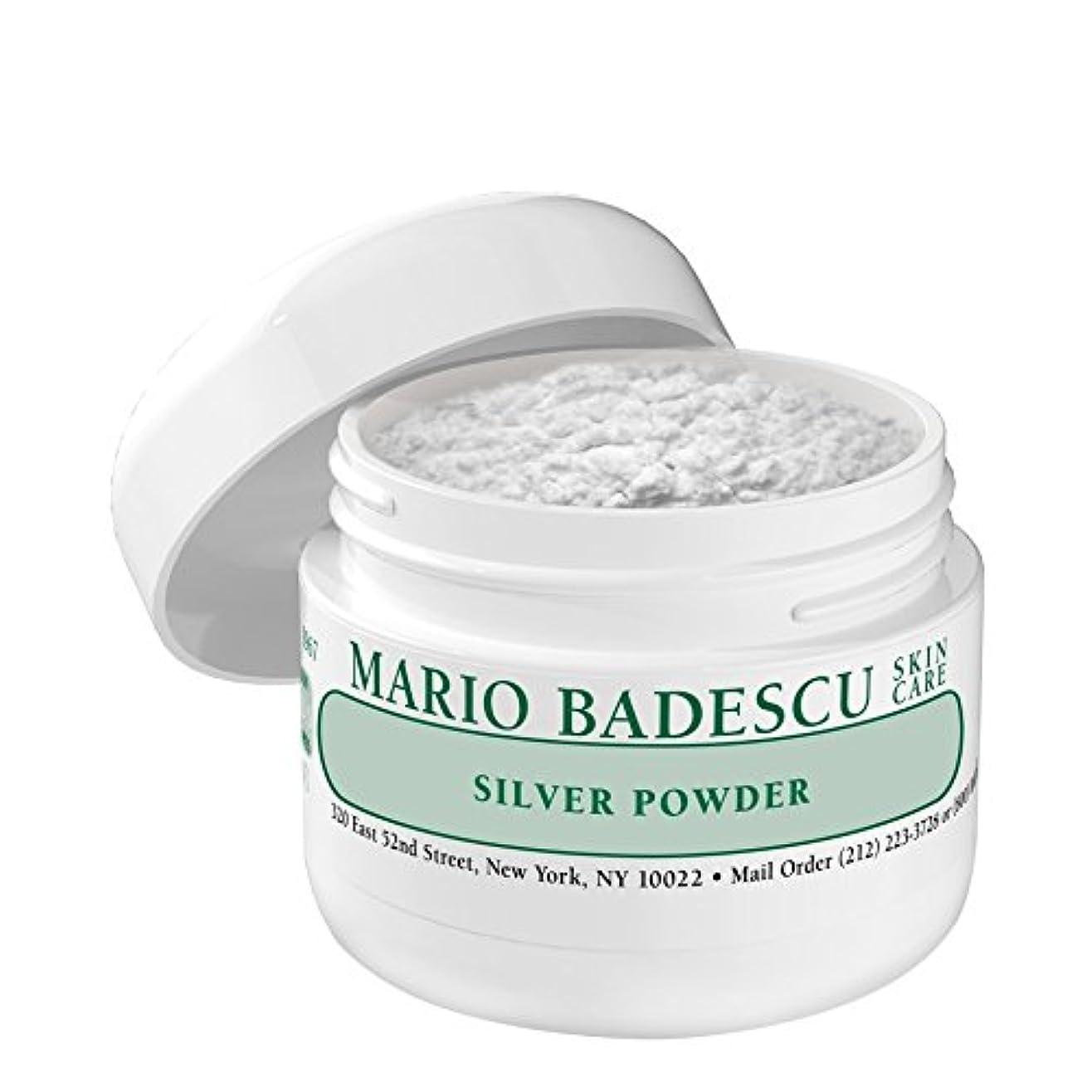 パースブラックボロウ自我ビデオマリオ?バデスキュー銀粉末 x4 - Mario Badescu Silver Powder (Pack of 4) [並行輸入品]