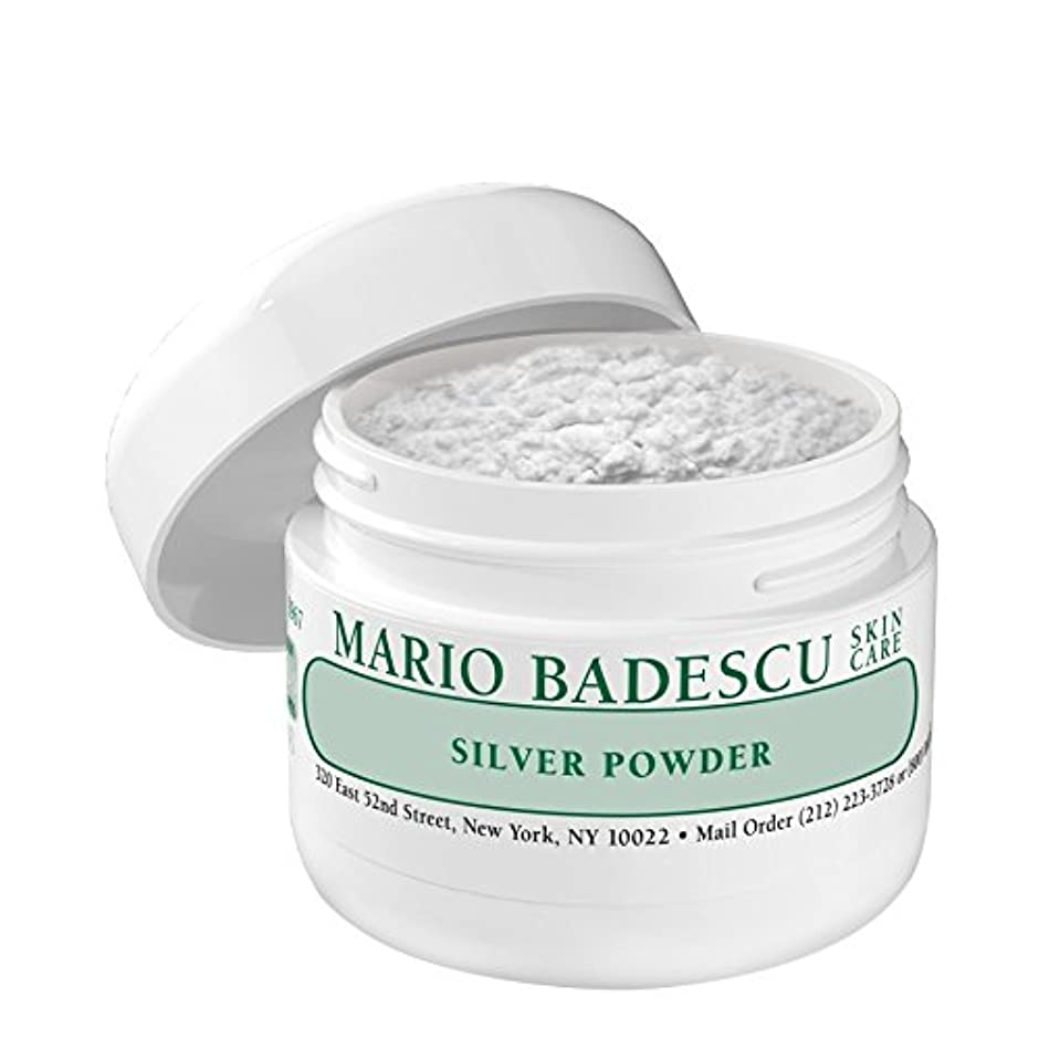 大声でびっくりするメンタリティマリオ?バデスキュー銀粉末 x4 - Mario Badescu Silver Powder (Pack of 4) [並行輸入品]