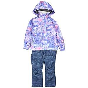 SMOG PERFORMER スキーウェア 女の子 ジュニア 子供 スノーウェア smg4372 ブルー 130cm