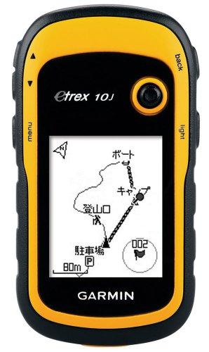 GARMIN(ガーミン) 登山用 ハンディ GPS eTrex 10J 【日本正規品】 97006