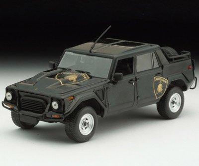 ミニチャンプス 1/43 ランボルギーニ LM002 1984 ロゴ付 (ブラック)