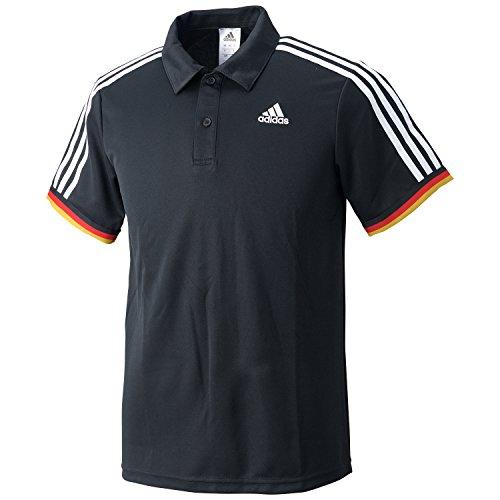 (アディダス)adidas トレーニングウェア エッセンシャルズ 3ストライプ ポロシャツ BIM16 [メンズ] AP3904 ブラック J/L