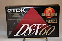 TDK ds-x60空白新しいカセットテープ