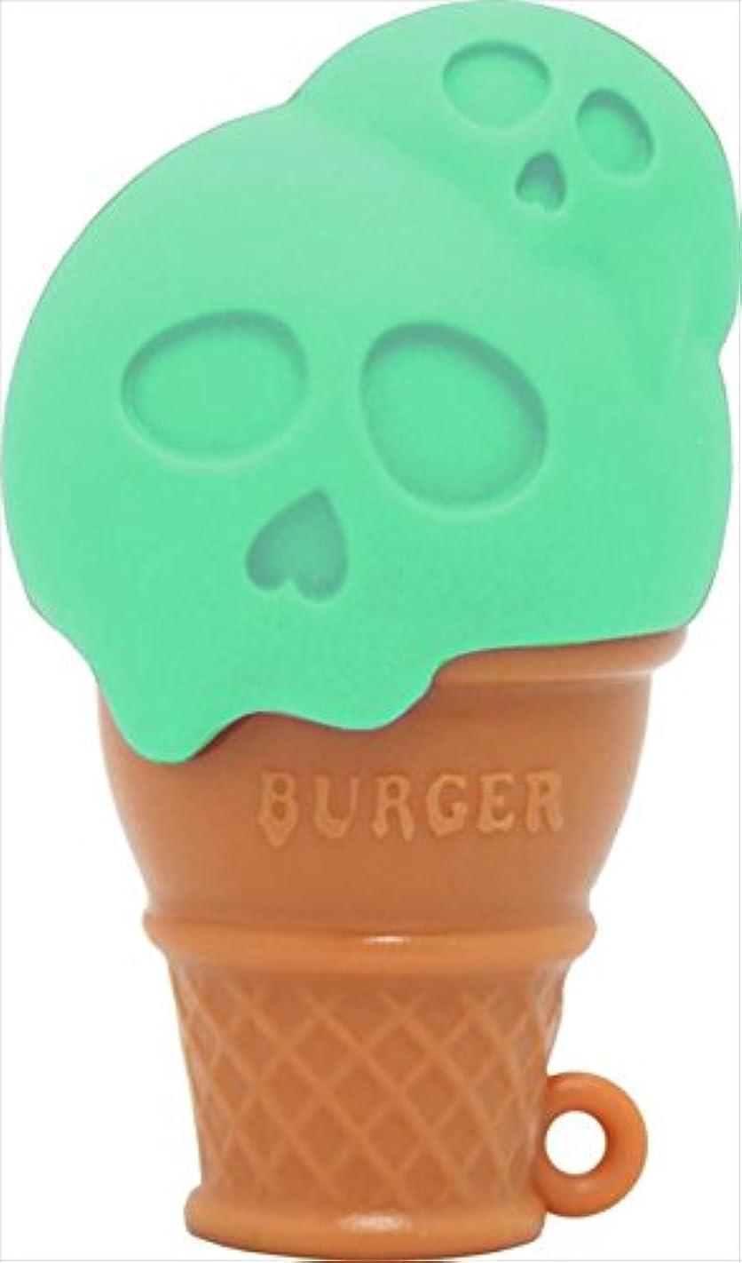 ペレットレール大学BURGER バーガー ハンディマッサージャー OR33448-PP01(XZ)  MINT GREEN