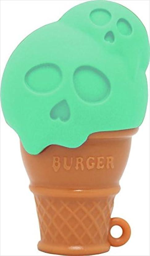 本物の受信うぬぼれたBURGER バーガー ハンディマッサージャー OR33448-PP01(XZ)  MINT GREEN