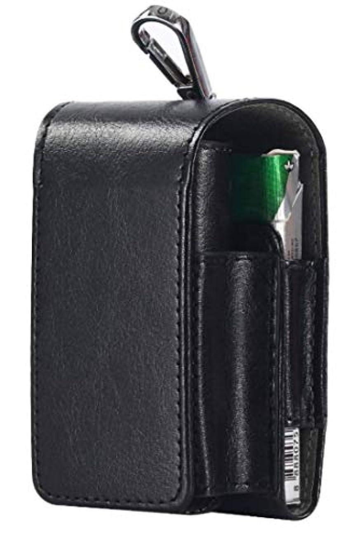 安価な正確統治可能[レッドレイ[ 電子 タバコ glo カバー ケース ハンドケース付き (ブラック)