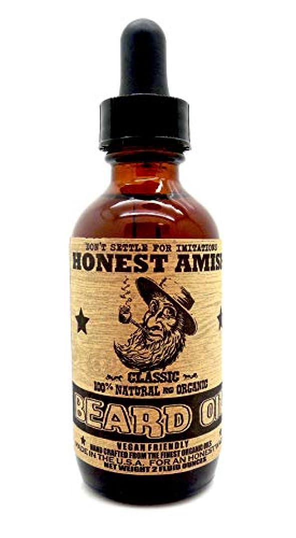 電気陽性静的容赦ないHonest Amish - クラシック 顎髭 オイル 59.15ml