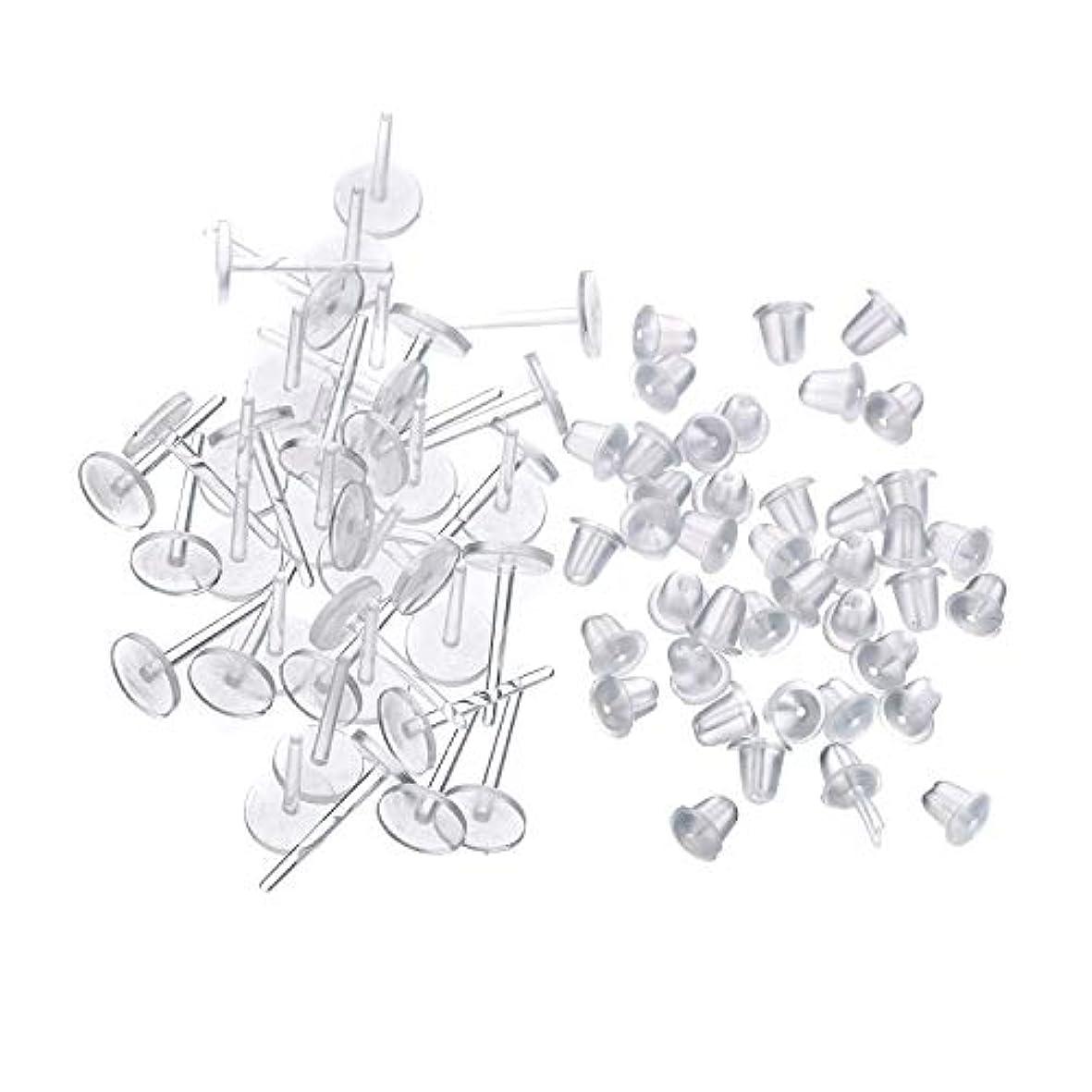 スパイラルコーン推進、動かすシークレットピアス 樹脂透明ピアス 金属アレルギーフリー ピアスホール,20セット