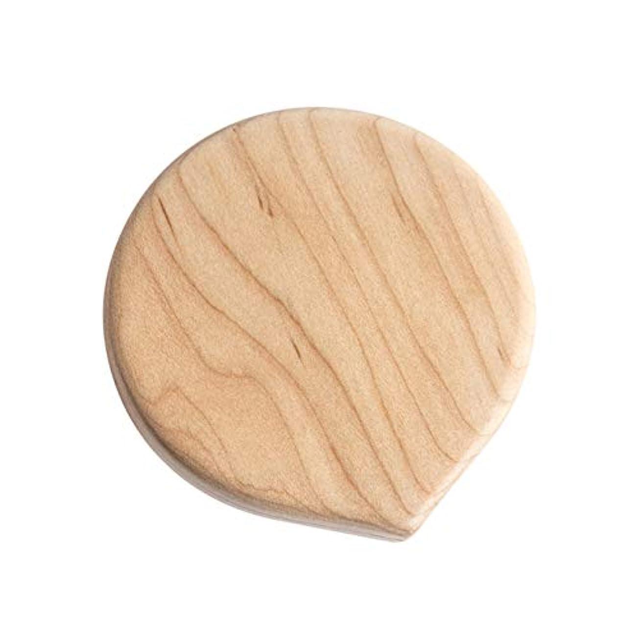 ピラミッド従来のカッター手鏡 ミニミラー 化粧鏡 携帯ミラー コンパクト鏡 コンパクトミラー 木製 旅行用 持ち運び便利 おしゃれ コンパクトミラー 化粧ミラー 拡大鏡付 (A04)