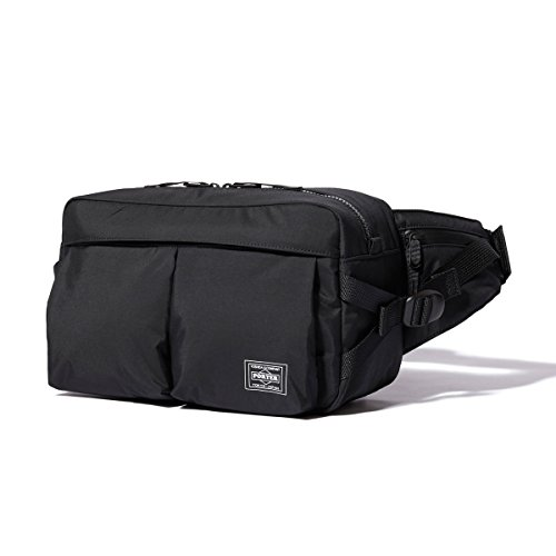 (ヘッド・ポーター) HEADPORTER YUKON WAIST BAG BLACK