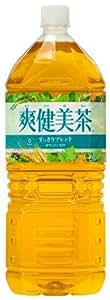 [2CS] コカ・コーラ 爽健美茶 すっきりブレンド(2L×6本)×2箱