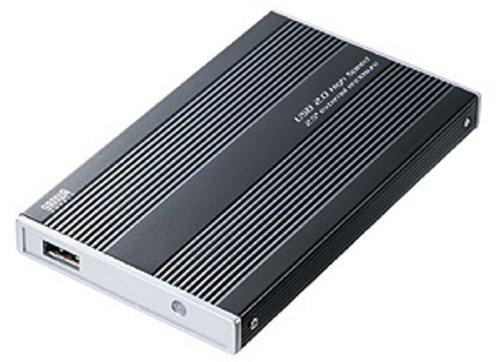 サンワサプライ 2.5インチハードディスクケース TK-RF25UBKL
