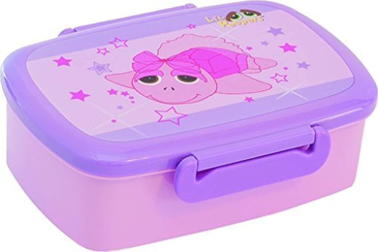 Tutu Ballet Turtle Lunch Box with separate tray inside by Suki Gifts