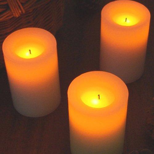 Flameless Candles フレイムレスキャンドル [アロマ] オレンジ&セージ/CA23503-BE