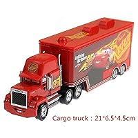 LIFEディズニーピクサー車 3 マックライトニングマックィーン叔父トラック 1:55 ダイキャストモデルカーのおもちゃ子供の誕生日ギフト合金 · ジャクソン嵐 おもちゃの車のる