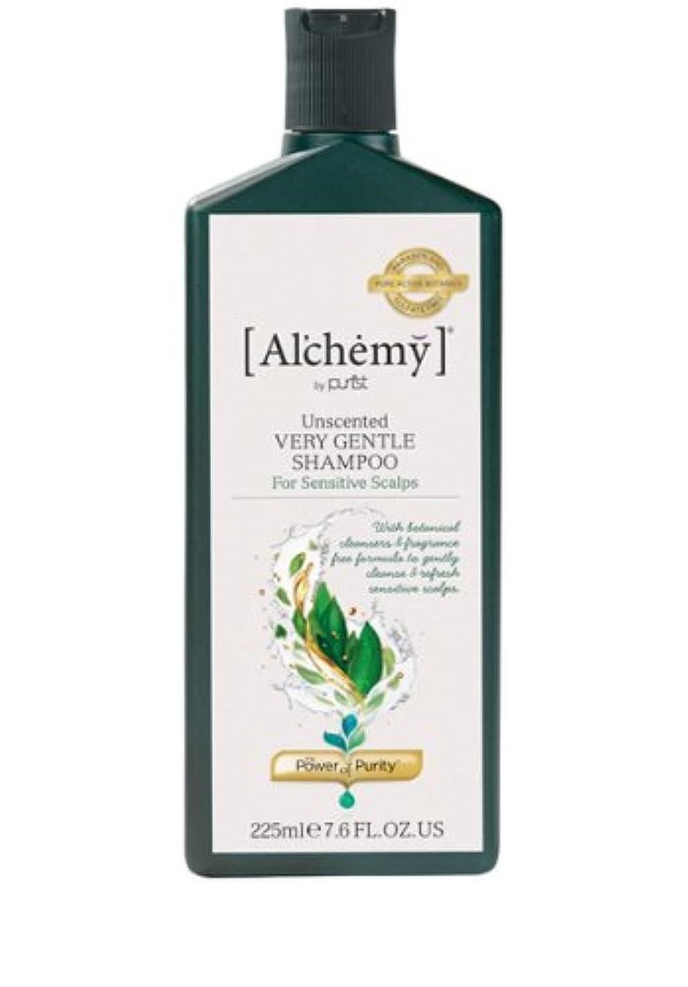 風味資本主義眠り【Al'chemy(alchemy)】アルケミー ベリージェントルシャンプー(Unscented Very Gentle Shampoo)(敏感肌用)225ml