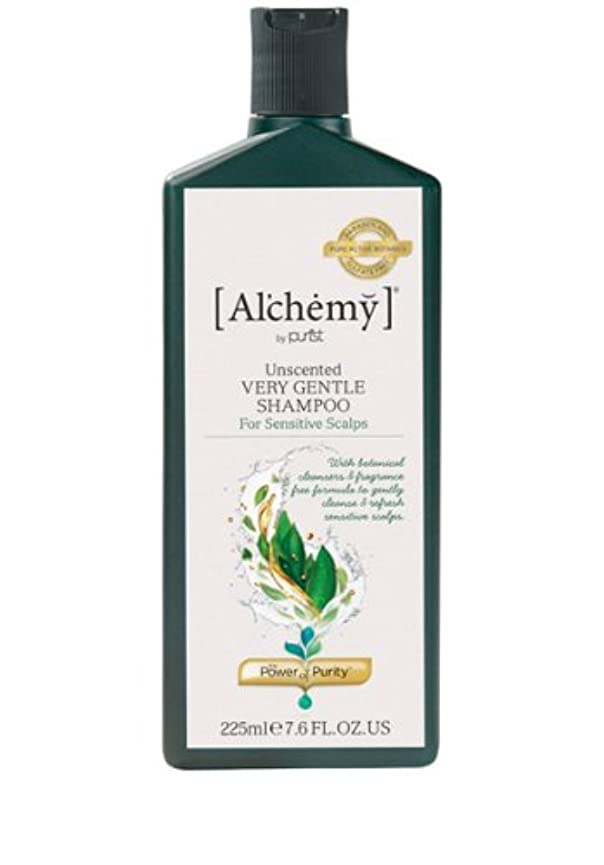 意識的歪める所得【Al'chemy(alchemy)】アルケミー ベリージェントルシャンプー(Unscented Very Gentle Shampoo)(敏感肌用)225ml