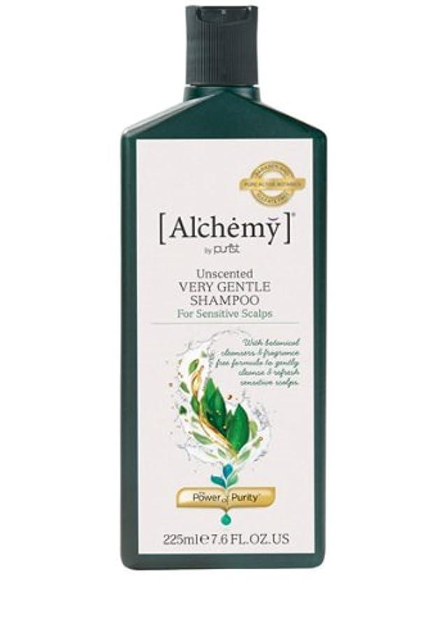 すみません上記の頭と肩憤る【Al'chemy(alchemy)】アルケミー ベリージェントルシャンプー(Unscented Very Gentle Shampoo)(敏感肌用)225ml