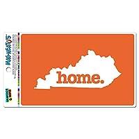 ケンタッキーKY ホーム州 MAG-NEATO'S(TM) ビニールマグネット - 固体オレンジ