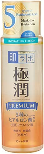 Hada Labo Super Hyaluronic Acid Premium Hydrating Lotion, 170ml