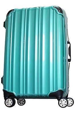 (ビータス) スーツケース BH-F2000 中型 Mサイズ 鏡面ターコイズブルー【2000 M/TB】