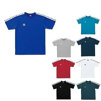 アリーナ(arena) 半袖 Tシャツ ASP-5112A メンズ ショートスリーブ フィットネス ウォームアップ GRN(グリーン) S