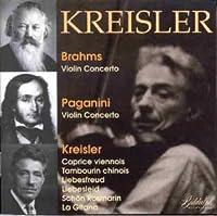 Plays Brahms,Paganini & Kre