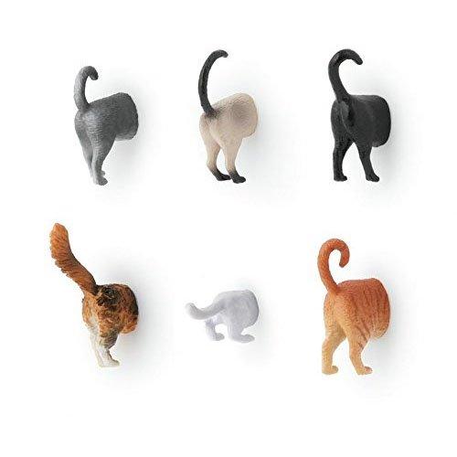 KIKKERLAND Cat Butt Magnets キャットバットマグネット MG53