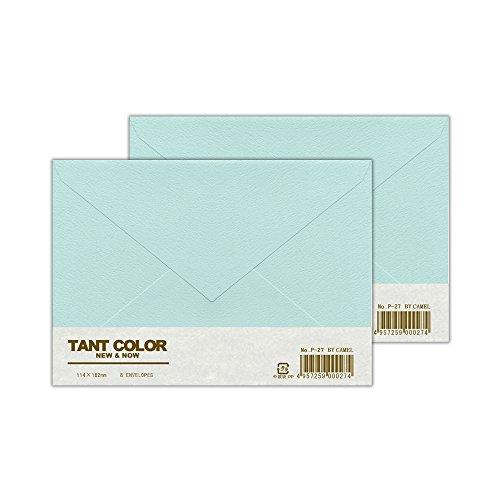 [해외]와타나베 히로시 봉투 스탄 컬러 양형 2 호 1 단 8 장 (2 묶음 세트) P-27_2S/Watanabe Hiroshi Envelope Tanto color Western style No. 2 1 bundle 8 pieces in (2 bundle set) P - 27 _ 2 S