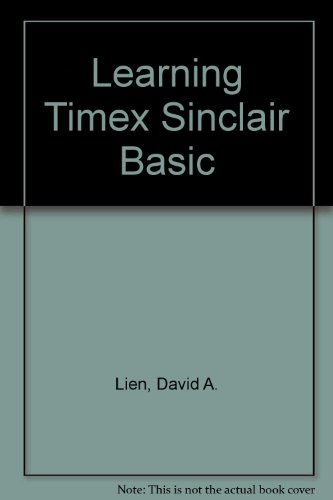 Learning Timex Sinclair Basic