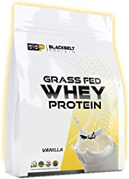 Black Belt Protein Whey Protein Concentrate - Aids Muscle Recovery, Builds Lean Muscle (Vanilla, 1KG)