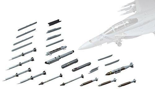 ハセガワ 1/48 アメリカ空軍 U.S.エアクラフトウェポンE アメリカ空対空ミサイル&ターゲットポッド プラモデル X48-17