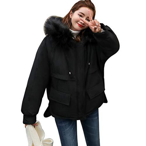 Pakaze Rew冬 ダウン ジャケット中綿 コートショート レディース アウター 軽量 防風 防寒トップス シンプル 女性用 綿入れ 暖 個性 上着 カジュアル 着こなし 安い オシャレ キャンパス 修身 可愛 通勤 通学