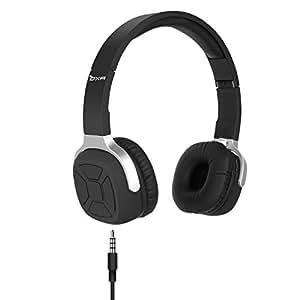 OXA ヘッドホン ワイヤレス 45時間再生 技適マーク取得済み 3.5mmオーディオ有線ヘッドセット 歩数計を搭載 ヘッドホン Bluetooth4.1 通話対応 NFC機能 密閉型 ヘッドセット 折りたたみ式 高音質 イヤホン NB-9 ブラック