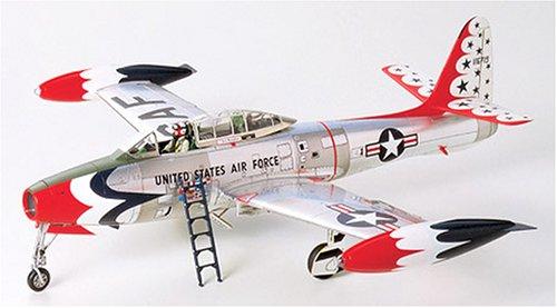 """1/48 傑作機 No.77 1/48 リパブリック F-84G """"サンダーバーズ"""" 61077"""