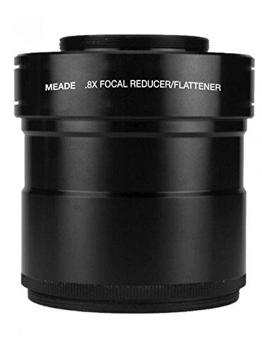 "Meadeシリーズ60000.8X 3""焦点レジューサ/フィールドFlattener for 115/130mm apo屈折望遠鏡"
