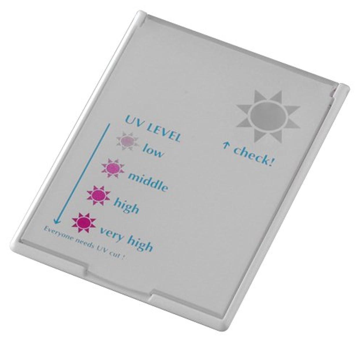 しおれたペック実験UVレベルチェッカーミラー コンパクトタイプ