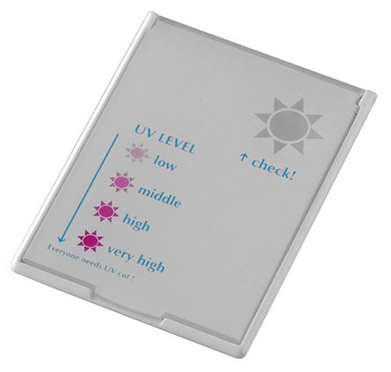 早熟コスチューム図UVレベルチェッカーミラー コンパクトタイプ