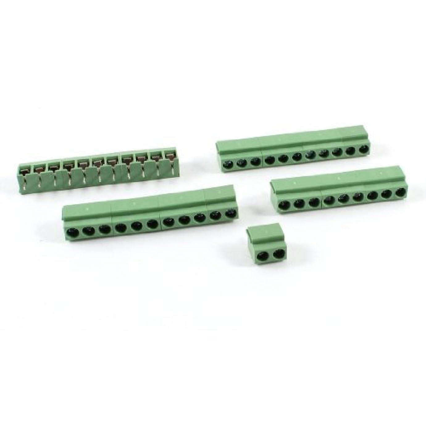 十二欠陥過半数4本11ポール5mmピッチ基板実装型スクリューターミナルブロック8A 250V