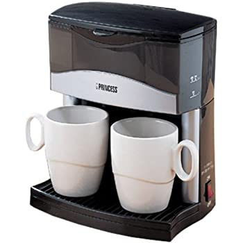 PRINCESS 2カップコーヒーメーカー(磁器製カップつき) Z-PC2193