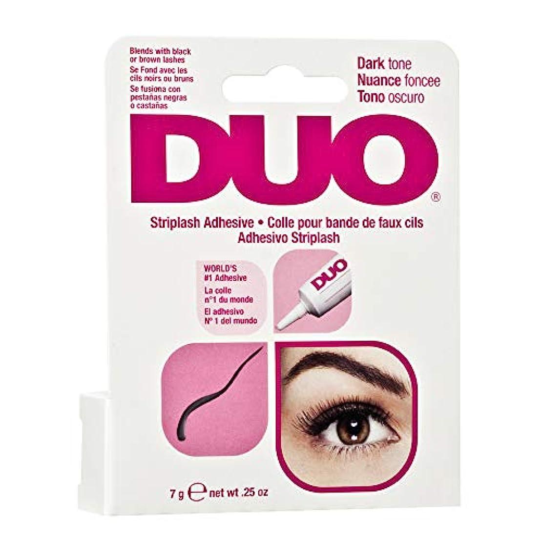 一致平均活力DUO Eyelash Adhesive - Dark Tone (並行輸入品)