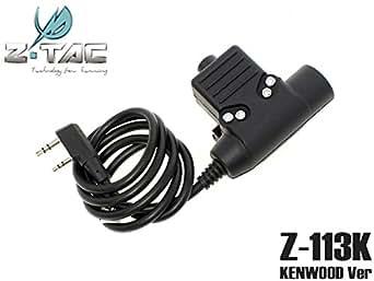 ZTACTICAL Zタクティカル NEXUS U94タイプ PTTスイッチ KENWOOD対応コネクター