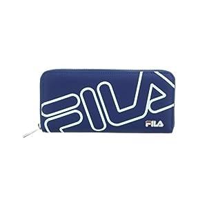 [フィラ] 長財布 ビッグロゴ ラウンドファスナー式 FIMS-0131 NV ネイビー