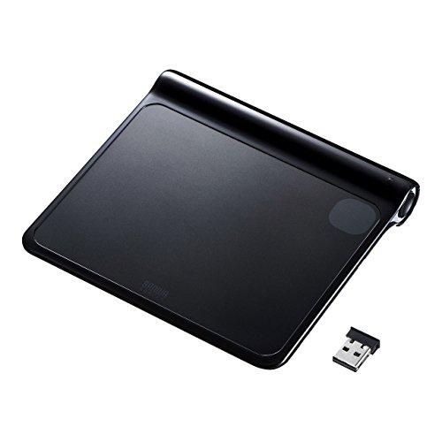 サンワサプライ ワイヤレスタッチパッド 2.4GHz ブラック MA-TPW02BK