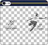 iPhone/Xperia/Galaxy/他機種選択可:サッカー/グラフィティ手帳ケース(デザイン:トッテナム/10番_02) 05 iPhone7