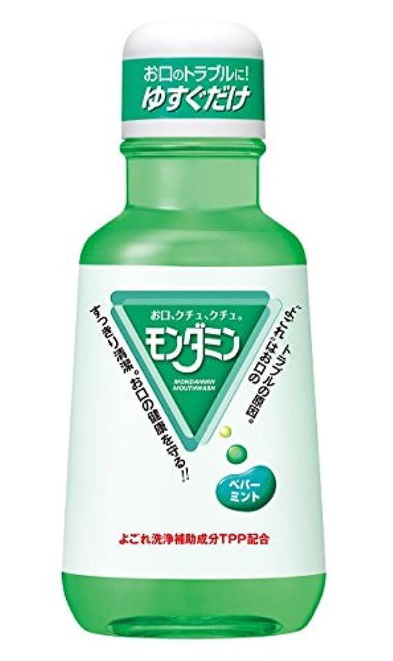 モルヒネアセ乱雑なアース製薬 マウスウォッシュ モンダミン ペパーミント 380mL