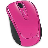 マイクロソフト マウス ワイヤレス/小型 マゼンタ Wireless Mobile Mouse 3500 GMF-00421