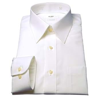 綿100%形態安定「日清紡シャツ」白 36-76