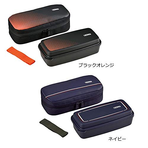 THERMOS(サーモス) フレッシュランチボックス DJO-600 ■2種類の内「BKOR・ブラックオレンジ」1点のみです